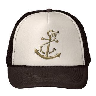 Ship's Anchor Nautical Marine-Themed Gift Trucker Hat
