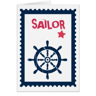 Ship's Anchor - Nautical Ship Anchors Card