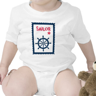 Ship's Anchor - Nautical Ship Anchors Rompers