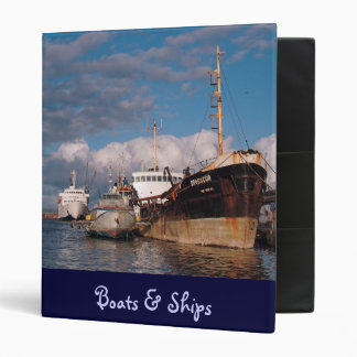 Ships at the harbor binder