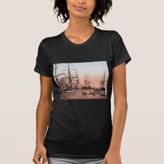 Ships at the Wharves at San Francisco circa 1900 T-shirt