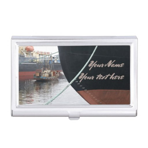 Ships  business card case