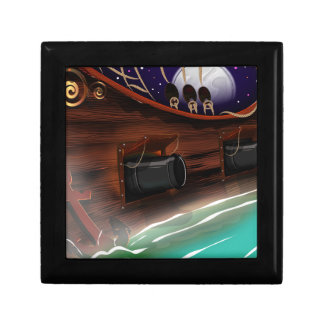 Ships Cannon Jewelry Box