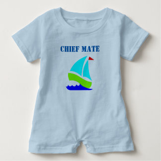 Ship's Chief Mate Baby Romper