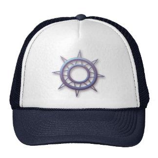 Ship's Compass Wheel Mesh Hat