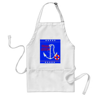 Ships Cook-Nautical Adult Apron