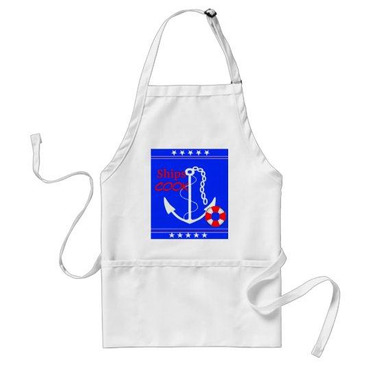 Ships Cook-Nautical Adult Apron