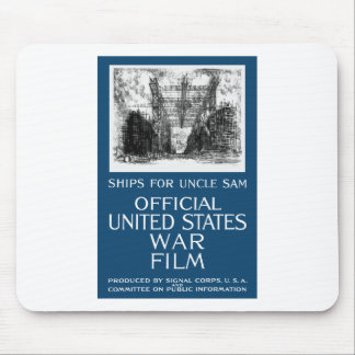 Ships For Uncle Sam -- WWI Mouse Pad