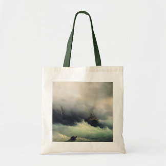 Ships in a Storm Canvas Bag