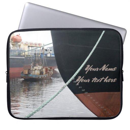 Ships  laptop sleeve