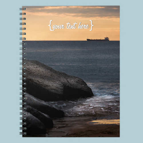Ships May Come and Go Spiral Notebook