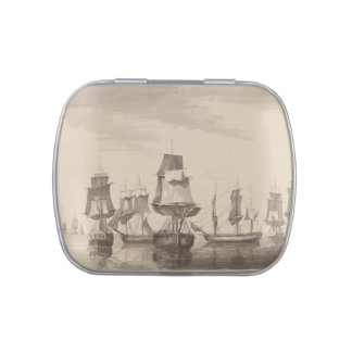 Ships of 26th June 1776 Jelly Belly Tin