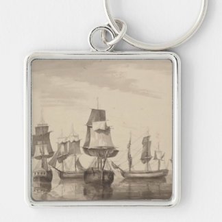 Ships of 26th June 1776 Keychain