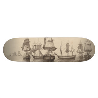 Ships of 26th June 1776 Skateboard Deck
