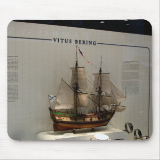 Ships of the explorers, Vitus Bering Mouse Pad