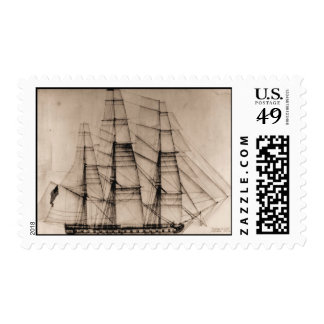 Ships of the US Navy, Columbus sail plan Postage