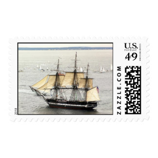 Ships of the US Navy, Constitution, Parade of Sail Postage