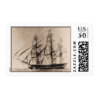 Ships of the US Navy, Essex 1800 Postage