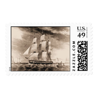 Ships of the US Navy, Houston 1819 Postage