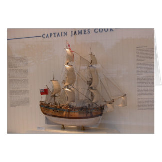 Ships of World Explorers, Captain James Cook Card