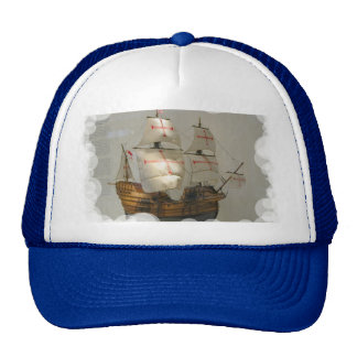 Ships of World Explorers,Christopher Columbus, Trucker Hat