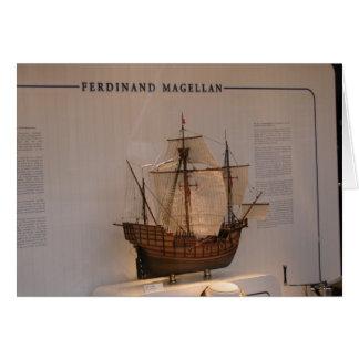 Ships of World Explorers, Ferdinand Magellan Card
