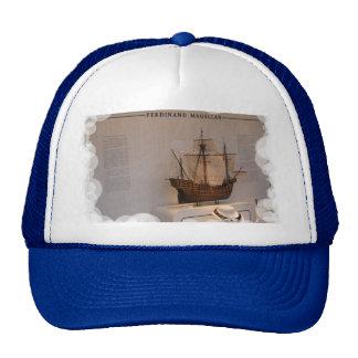 Ships of world Explorers, Ferdinand Megellan Trucker Hat
