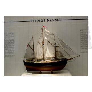 Ships of World Explorers, Fridjof Nansen Card