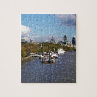 Ships on the Thames. Jigsaw Puzzle