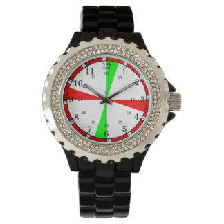 Ship's radio room clock wrist watches