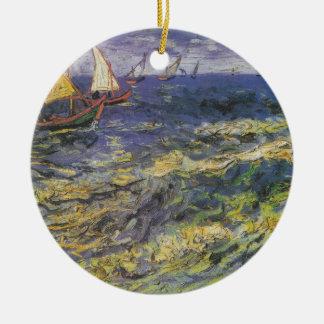 Ships Sea Ocean Water Blue Peace Love Destiny Ornaments