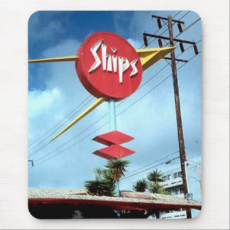 """""""Ships Sign"""" Mouse Pad"""