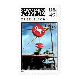 Ship's Sign Postage Stamp