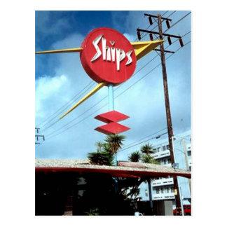 """Ships Sign"" Postcard"