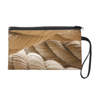 Ships twisted rope. wristlet clutch