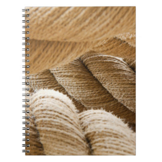 Ships twisted rope. spiral notebook