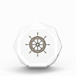 Ships Wheel Acrylic Award