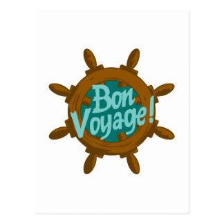 SHIPS WHEEL BON VOYAGE POST CARDS