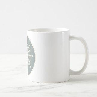 Ship's Wheel Coffee Mug