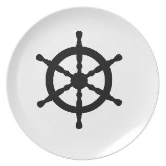 Ship's Wheel Dinner Plate