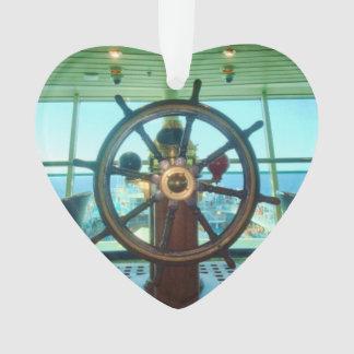 Ship's Wheel Ornament