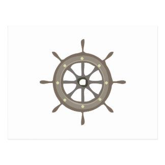 Ships Wheel Postcards