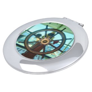 Ship's Wheel Round Shaped