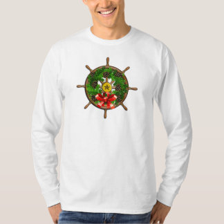 Ship's Wheel Wreath T-Shirt