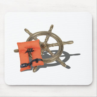 ShipWheelLifeVest082612.png Mouse Pad