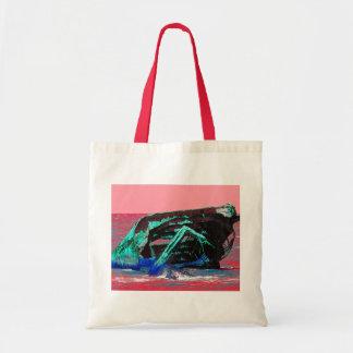 Shipwreck Abstract Pink Tote Bag