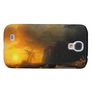 Shipwreck at Mount Athos Ivan Aivasovsky seascape Samsung Galaxy S4 Case