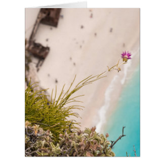 Shipwreck beach greeting cards