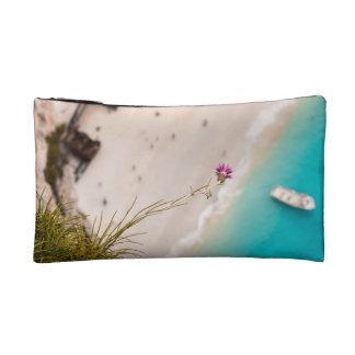 Shipwreck beach makeup bag