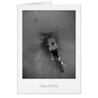 Shipwreck Birthday Card